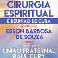 REUNIÃO DE CURA E CIRURGIA ESPIRITUAL EM POÇOS DE CALDAS (MINAS GERAIS)